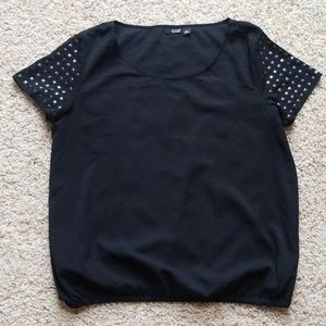 a.n.a studded short sleeve